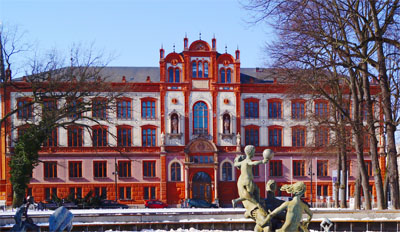 The main building of the University of Rostock